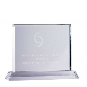 Crystal Award CR15A - Trophy Land