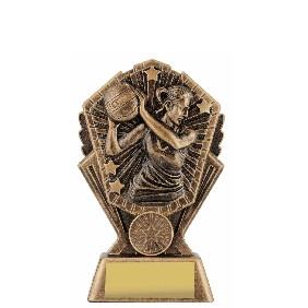 Netball Trophy CR191A - Trophy Land