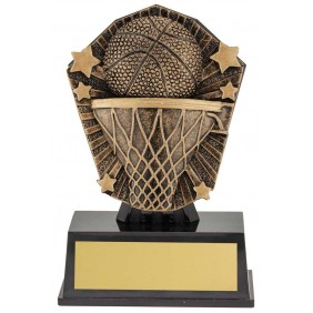 Basketball Trophy CSM34 - Trophy Land