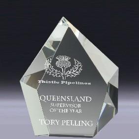 Crystal Award CT01 - Trophy Land