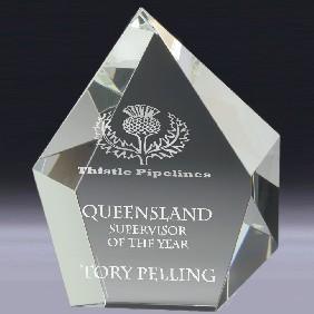 Crystal Award CT02 - Trophy Land
