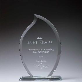 Glass Award CT230A - Trophy Land