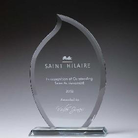 Glass Award CT230B - Trophy Land