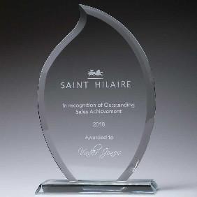 Glass Award CT230C - Trophy Land