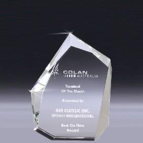 Crystal Award CT35A - Trophy Land