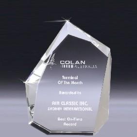 Crystal Award CT35B - Trophy Land