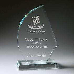 Glass Award CT626L - Trophy Land