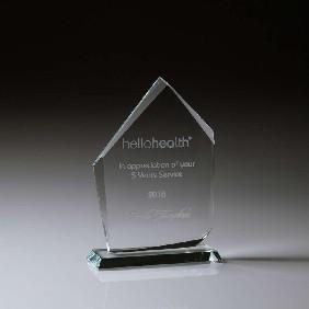 Glass Award CT930A - Trophy Land