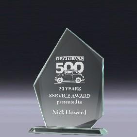 Glass Award CT931 - Trophy Land