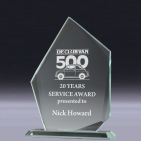 Glass Award CT932 - Trophy Land