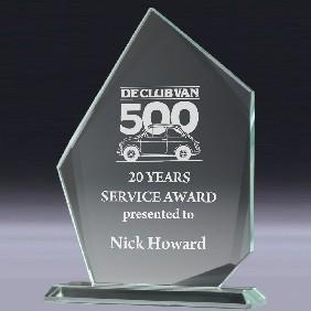 Glass Award CT933 - Trophy Land