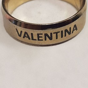 Engraving Gallery Colour Filled Ring Engraving - Trophy Land