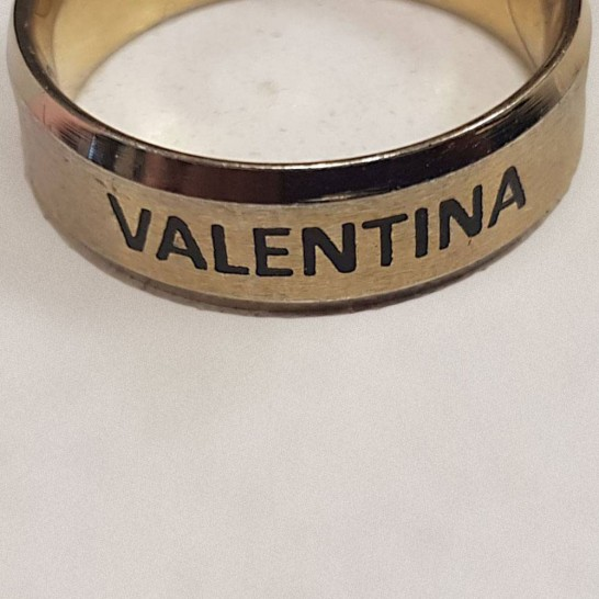 Colour Filled Ring Engraving - Trophy Land