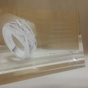 Corporate Awards Gallery Crystal with Printing - Trophy Land