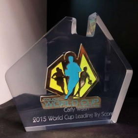 Custom Awards Gallery Custom Badge Embedment - Trophy Land
