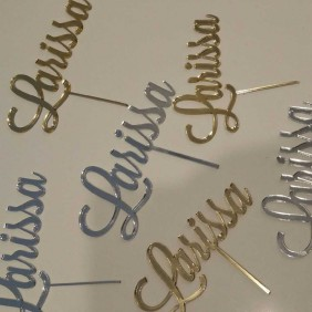 Signage Gallery Custom Cake Toppers - Trophy Land