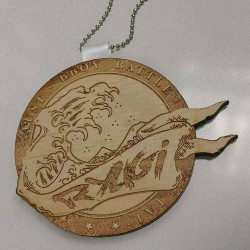 Wooden Medal Sample