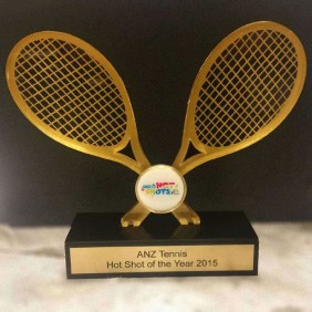 Custom Awards Gallery Custom Tennis Trophy - Trophy Land