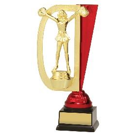 Cheerleader Trophy DF1511 - Trophy Land
