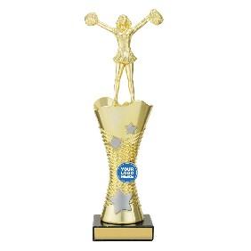 Cheerleader Trophy DF1535 - Trophy Land