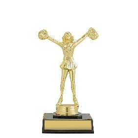 Cheerleader Trophy DF1584 - Trophy Land