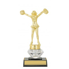 Cheerleader Trophy DF1585 - Trophy Land
