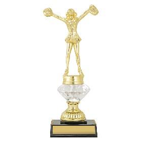 Cheerleader Trophy DF1586 - Trophy Land