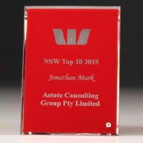 Glass Award DP63 - Trophy Land