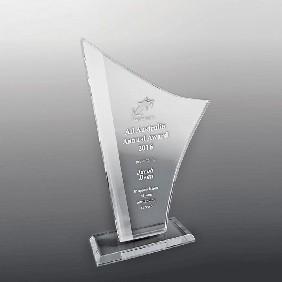Glass Award DSGA01B - Trophy Land