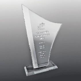 Glass Award DSGA01C - Trophy Land