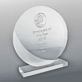 Glass Award DSGA03C - Trophy Land