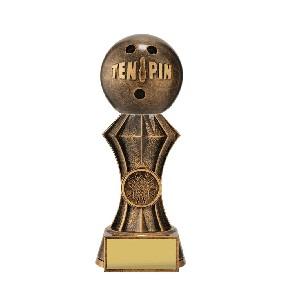Ten Pin Bowling Trophy DT52A - Trophy Land