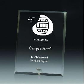 Glass Award DY10B - Trophy Land
