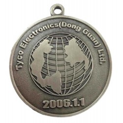 Diecast Medal Sample 3