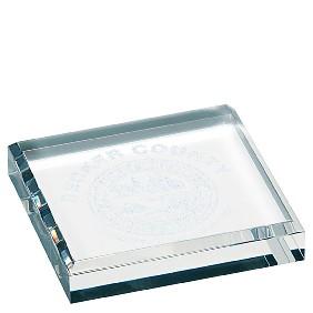 Acrylic Award EAC044 - Trophy Land