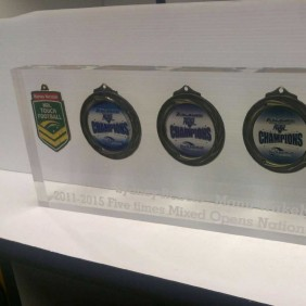 Custom Awards Gallery Embedded Medals - Trophy Land
