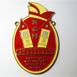 Enamel Medal Sample 2