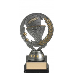 Netball Trophy FT291A - Trophy Land
