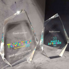 Corporate Awards Gallery Frucor Colour Print - Trophy Land