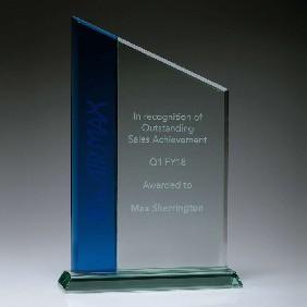 Glass Award GB402B - Trophy Land