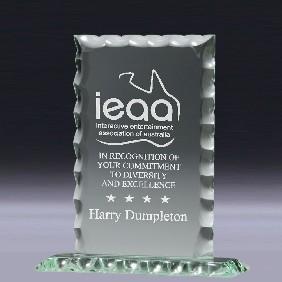 Glass Award GL414 - Trophy Land