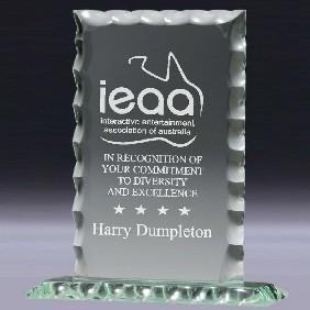 Glass Award GL416 - Trophy Land