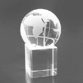 Crystal Award GLB8-B - Trophy Land