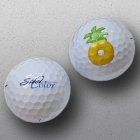 Engraving Gallery Golf Balls Direct Colour Print - Trophy Land