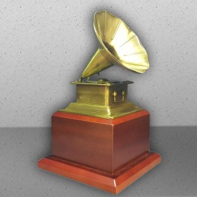 Corporate Awards Gallery Gramophone Trophy - Trophy Land