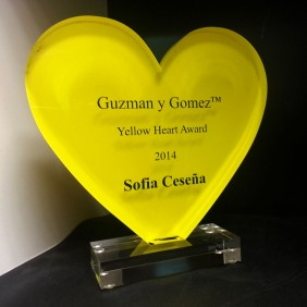 Custom Awards Gallery GyG Custom Acrylic Heart - Trophy Land