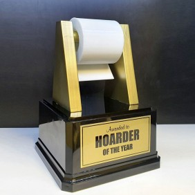 Custom Awards Gallery Hoarder Trophy - Trophy Land