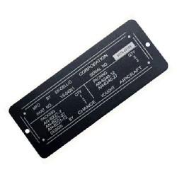 ID Plate Engraving
