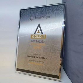 Custom Awards Gallery Invisalign Wall Plaque - Trophy Land