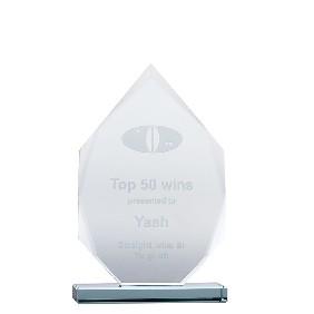 Glass Award JADE2A - Trophy Land
